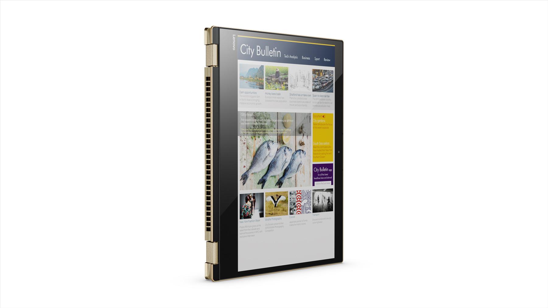 Фото  Ультрабук Lenovo Yoga 520 Gold Metallic (81C800F8RA)