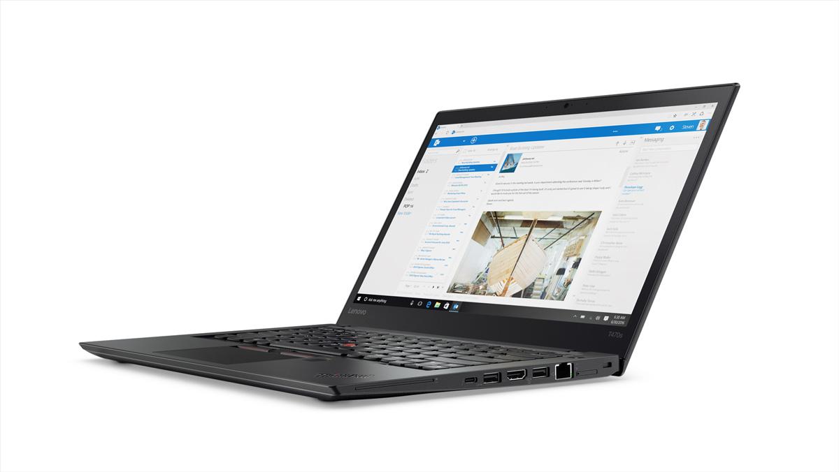 Фото  Ноутбук ThinkPad T470s (20HF004MRT)