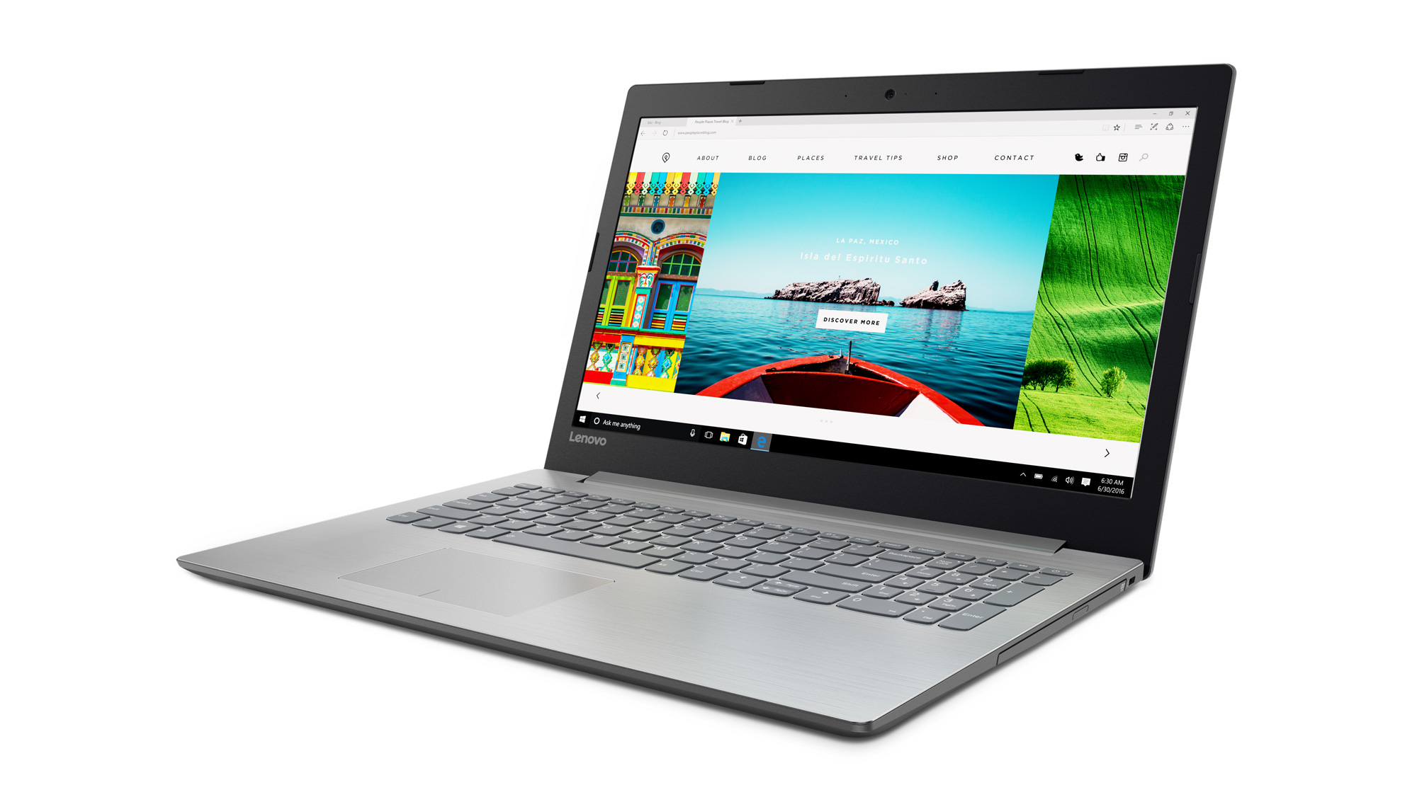 Фото  Ноутбук Lenovo ideapad 320-15 Platinum Grey (80XH01LVRA)