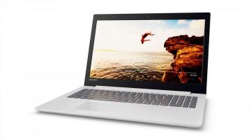 Фото 1 Ноутбук Lenovo ideapad 320-15 Blizzard White (80XH00WURA)