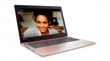 Фото 1 Ноутбук Lenovo ideapad 320-15 CORAL RED (80XL03HRRA)