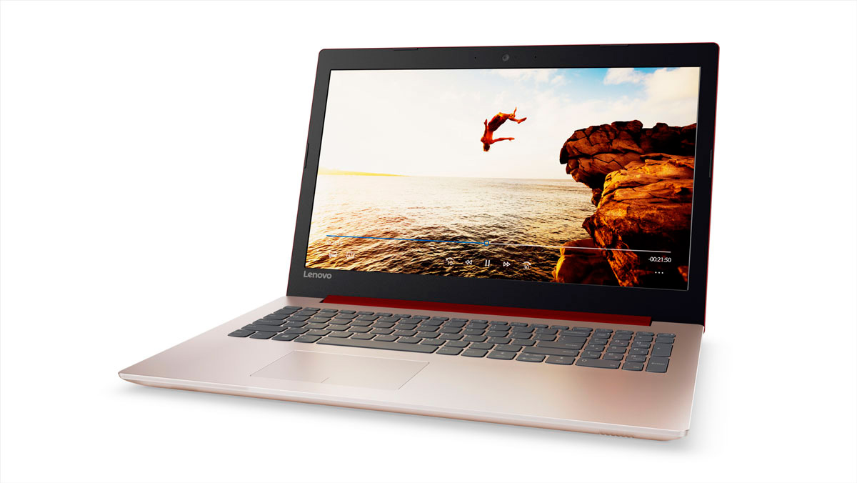 Фото  Ноутбук Lenovo ideapad 320-15 CORAL RED (80XL03HRRA)
