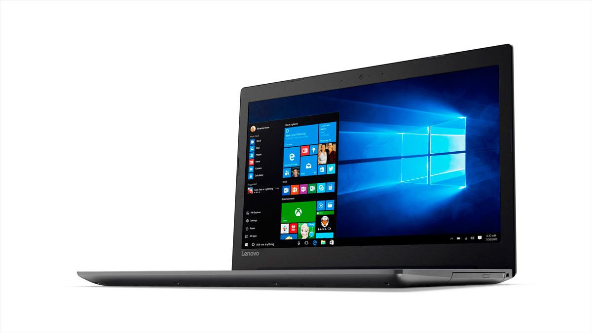 Фото  Ноутбук Lenovo ideapad 320-15 Onyx Black (80XH01XKRA)