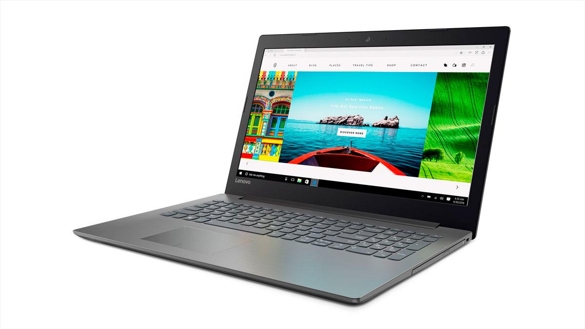 Фото  Ноутбук Lenovo ideapad 320-15 Onyx Black (80XL041ARA)