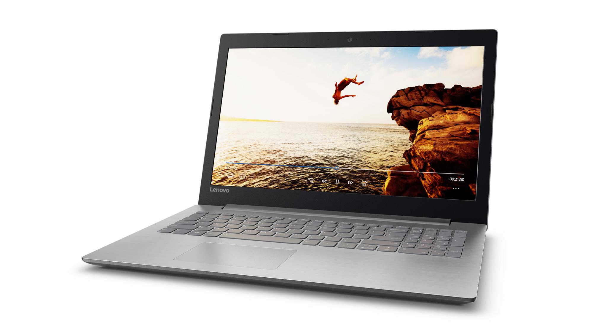 Фото  Ноутбук Lenovo ideapad 320-15 Platinum Grey (80XL041CRA)