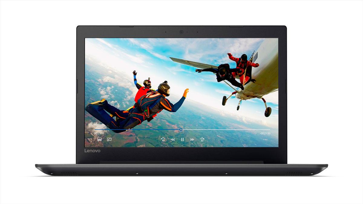 Фото  Ноутбук Lenovo ideapad 320-15 Onyx Black (81BG00QJRA)