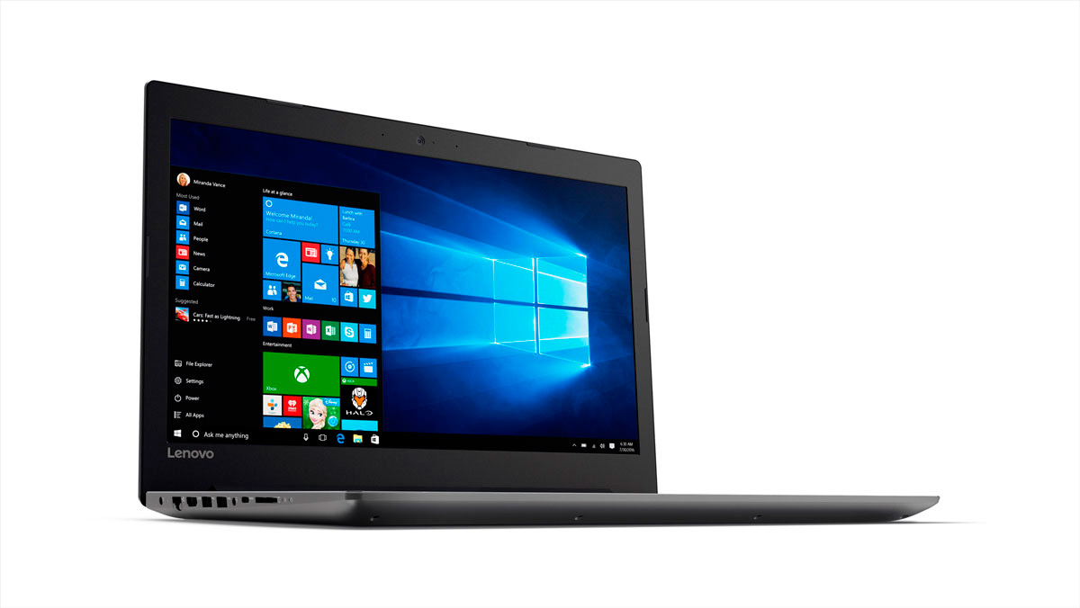 Фото  Ноутбук Lenovo ideapad 320-15 Onyx Black (81BG00QHRA)