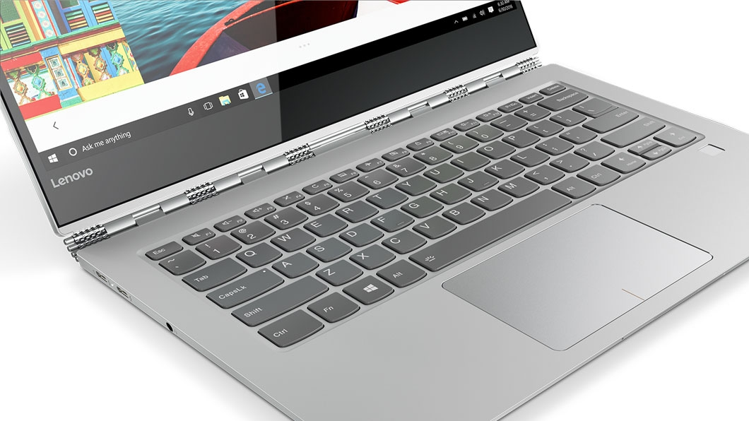 Фото  Ультрабук Lenovo Yoga 920 Vibes (Glass) Platinum (80Y8004RRA)