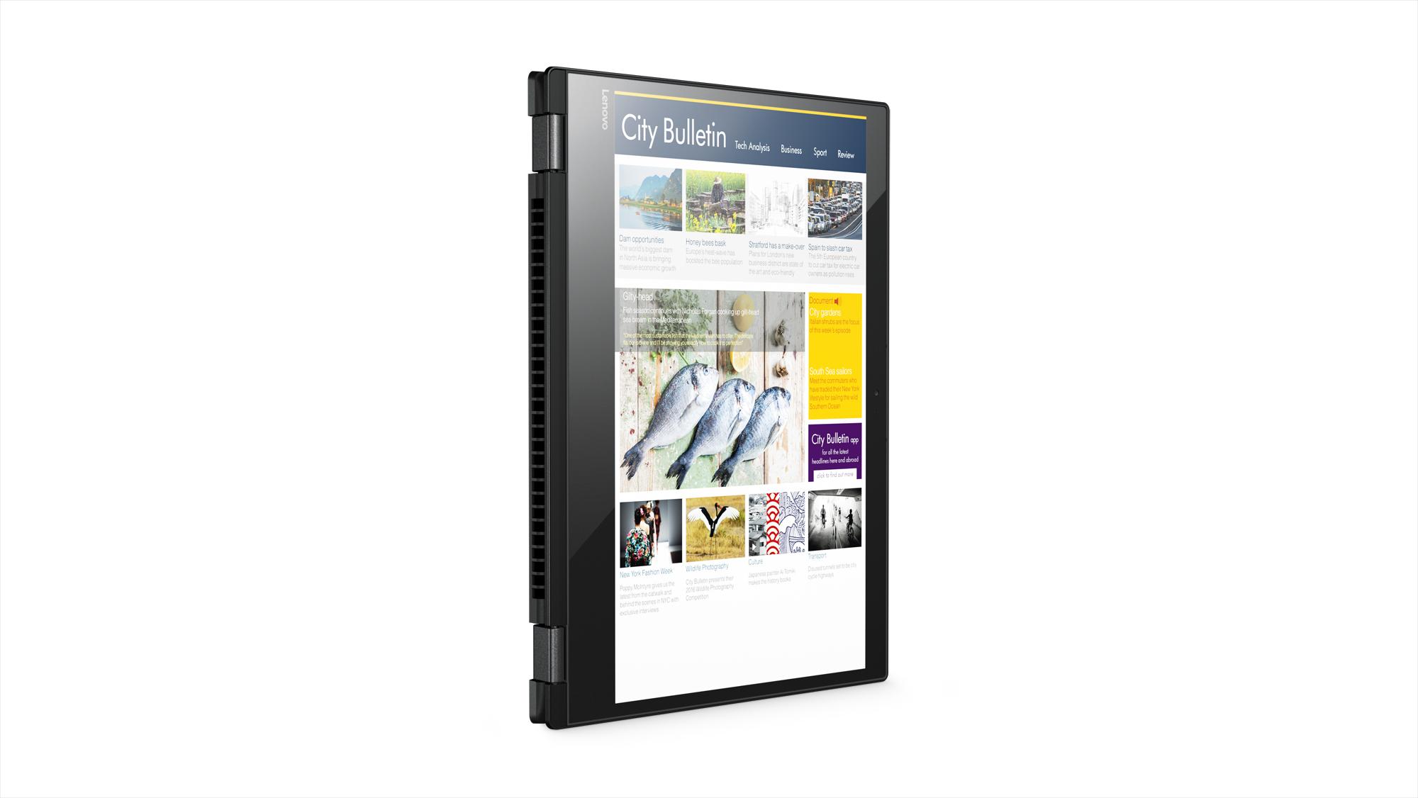 Фото  Ультрабук Lenovo Yoga 520 Onyx Black (81C800D5RA)
