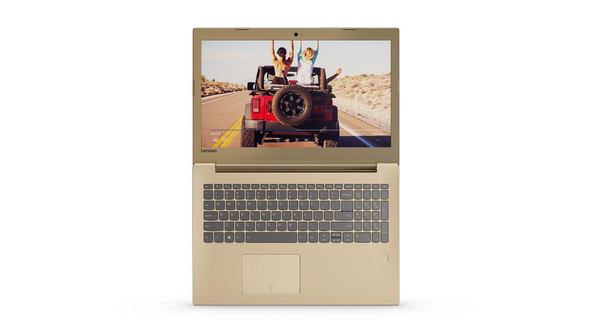 Фото  Ноутбук Lenovo ideapad 520-15 Golden (81BF00JHRA)