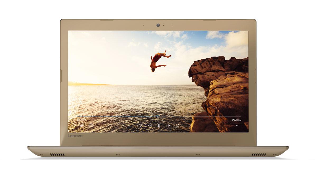 Фото  Ноутбук Lenovo ideapad 520-15 Golden (81BF00JKRA)
