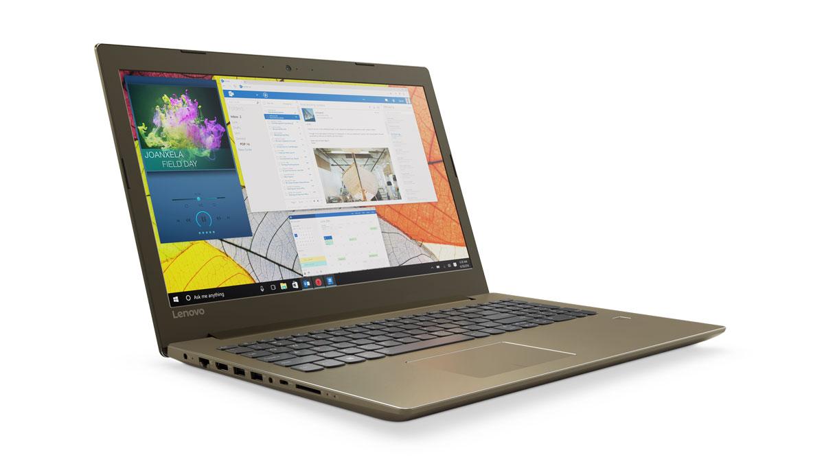 Фото  Ноутбук Lenovo ideapad 520-15 Bronze (81BF00JRRA)