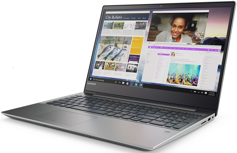 Фото  Ультрабук LENOVO ideapad 720S Iron Grey (81AC002ARA)