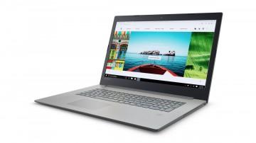 Фото 1 Ноутбук Lenovo ideapad 320-17 Platinum Grey (81BJ005MRA)