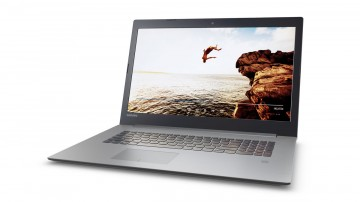 Фото 2 Ноутбук Lenovo ideapad 320-17 Platinum Grey (81BJ005MRA)