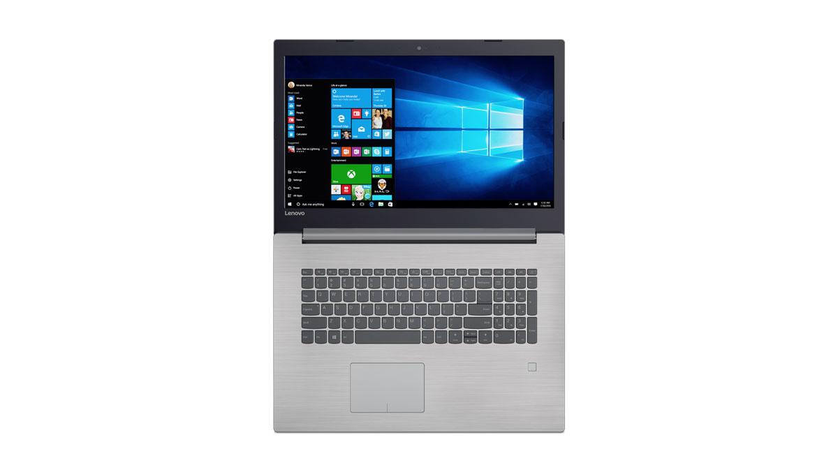 Фото  Ноутбук Lenovo ideapad 320-17 Platinum Grey (81BJ005MRA)