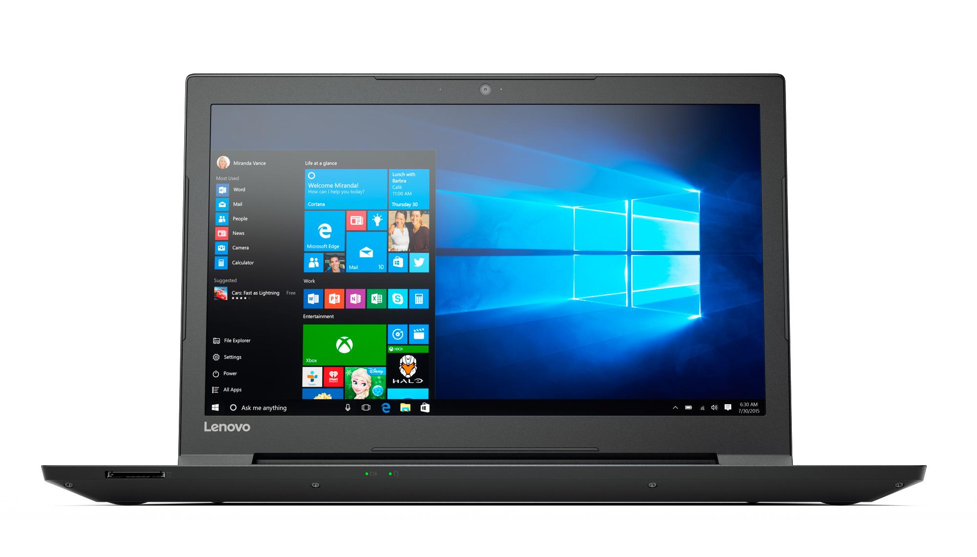 Фото  Ноутбук Lenovo V310-15IKB Black (80T30149UA)