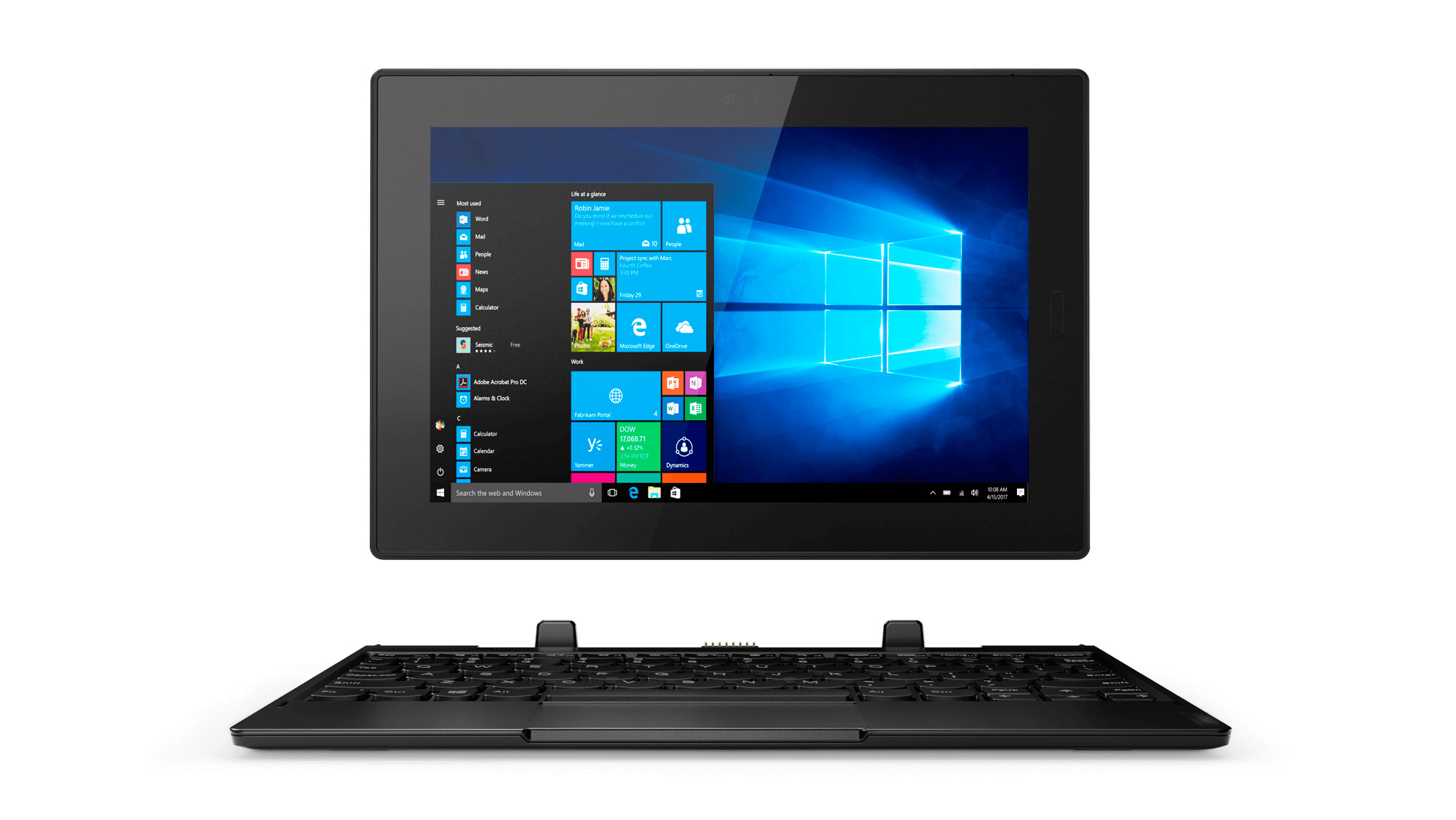 Фото  Планшет Lenovo Tablet 10 8/128 LTE (20L3000KRT)