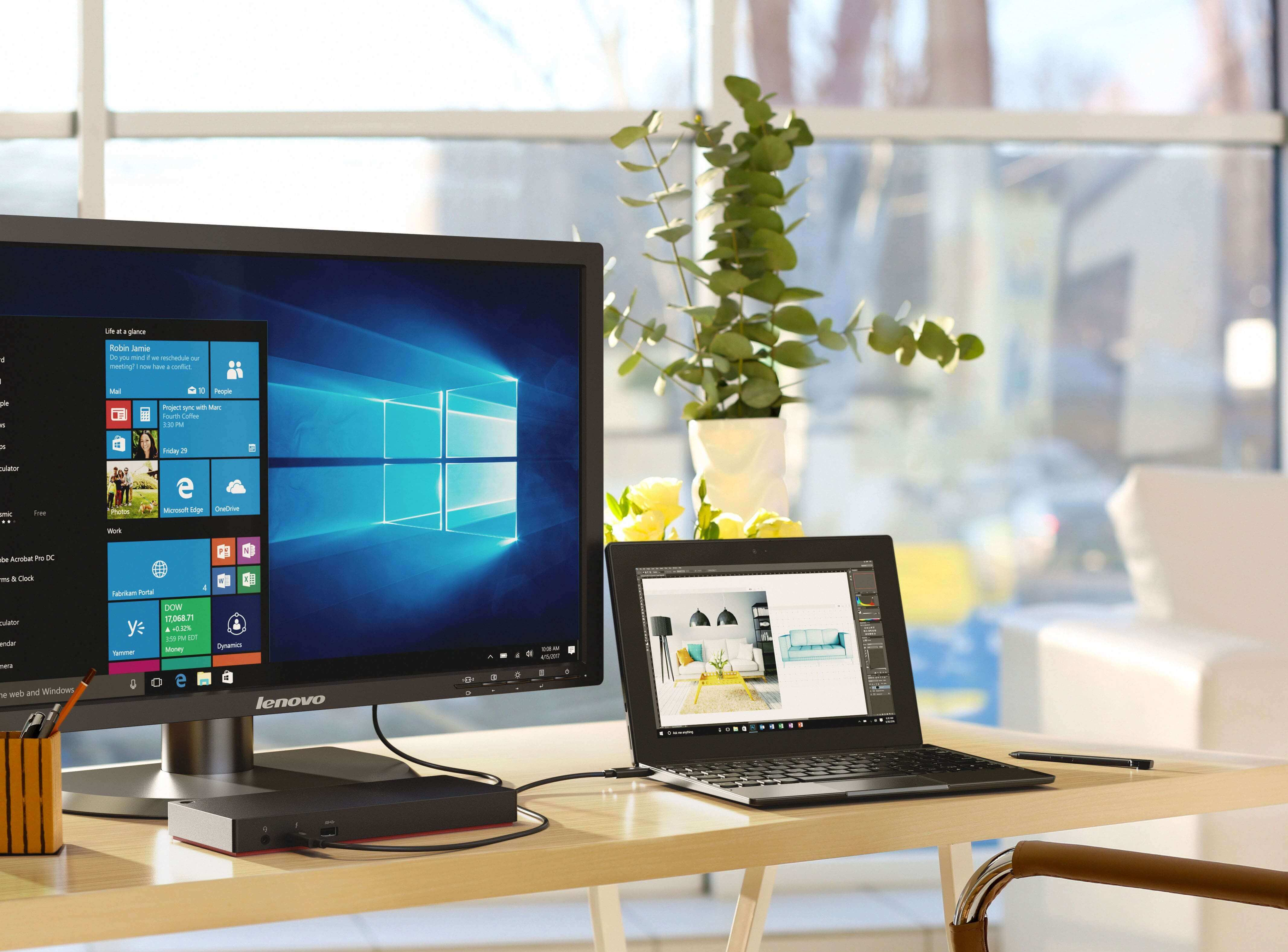 Фото  Планшет Lenovo Tablet 10 8/128 WiFi (20L3000MRT)