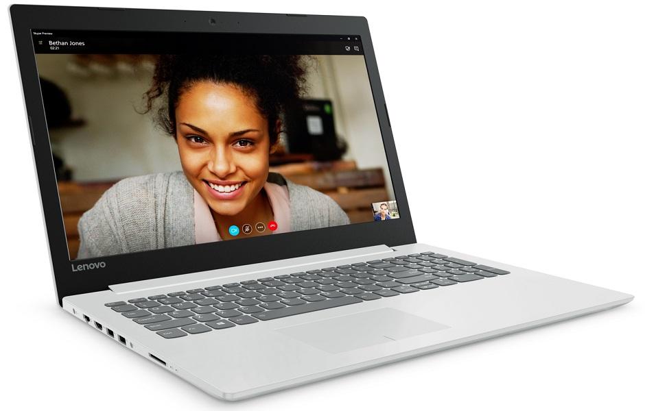Фото  Ноутбук Lenovo ideapad 320-15ISK Blizzard White (80XH022TRA)
