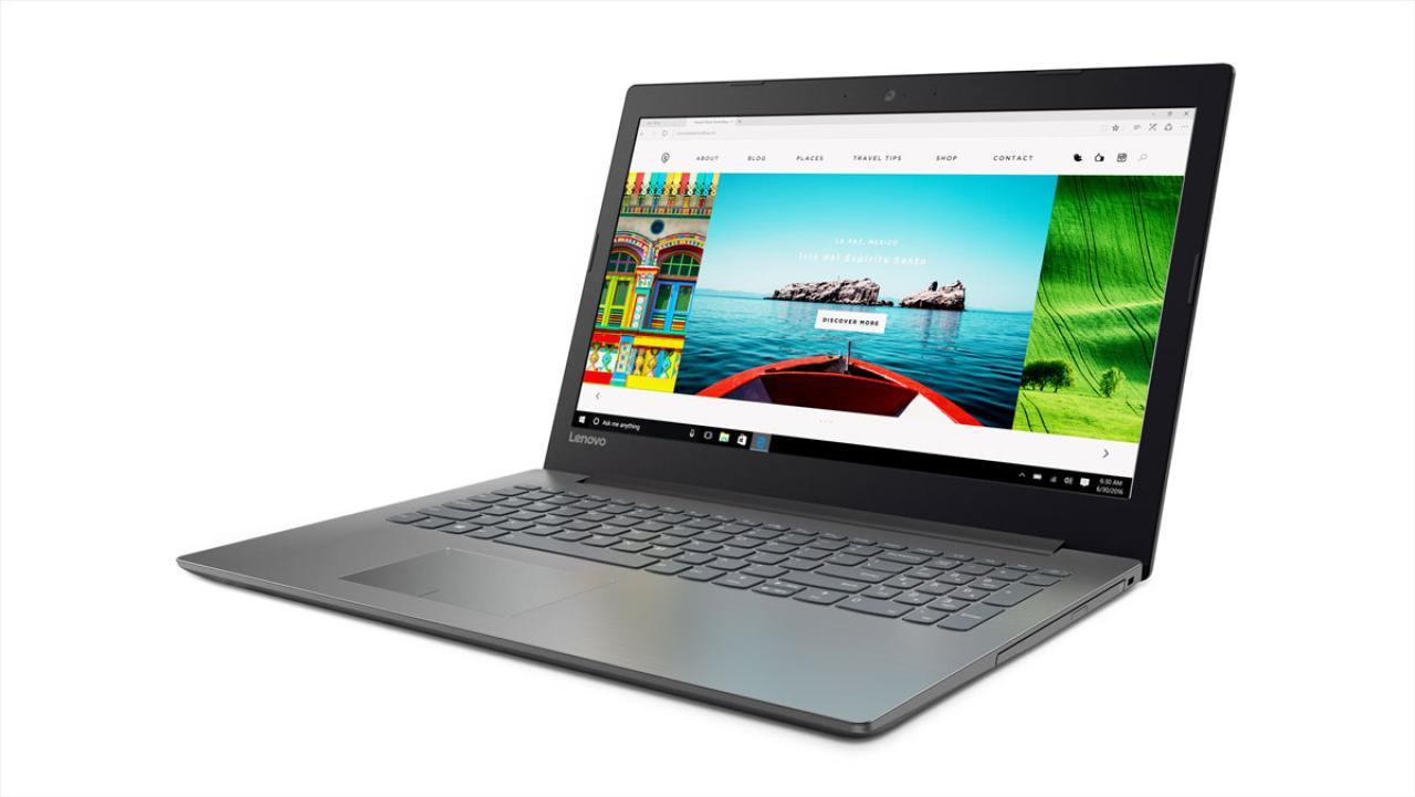 Фото  Ноутбук Lenovo ideapad 320-15ISK Onyx Black (80XH01XGRA)