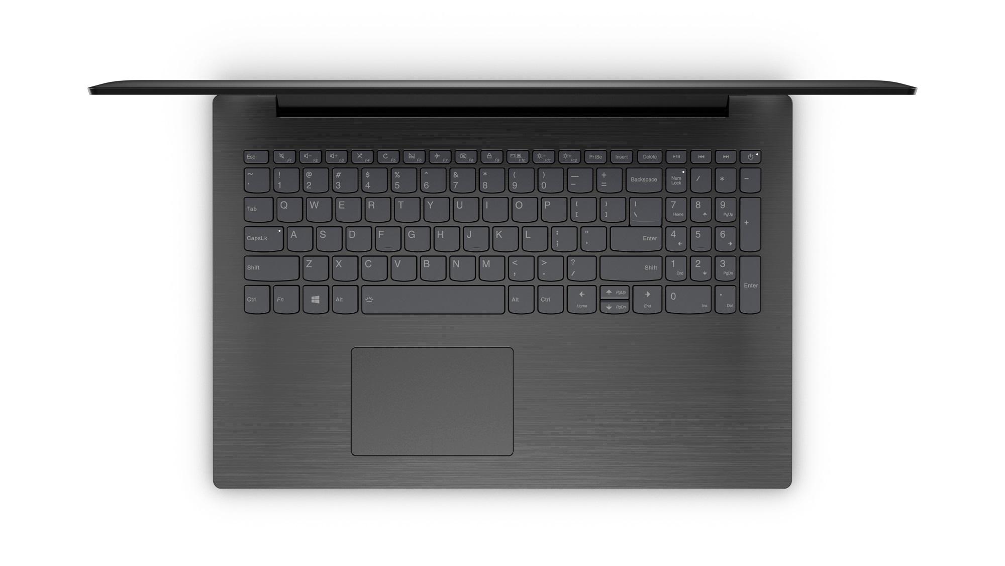 Фото  Ноутбук Lenovo ideapad 320-15IKB Onyx Black (80XL03WBRA)