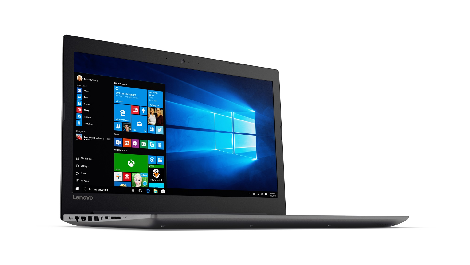 Фото  Ноутбук Lenovo ideapad 320-15IKB Onyx Black (80XL041DRA)