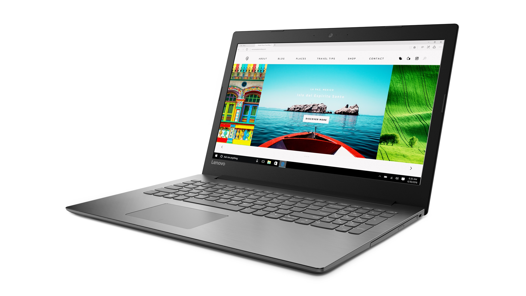 Фото  Ноутбук Lenovo ideapad 320-15ISK Onyx Black (80XH01PXRA)