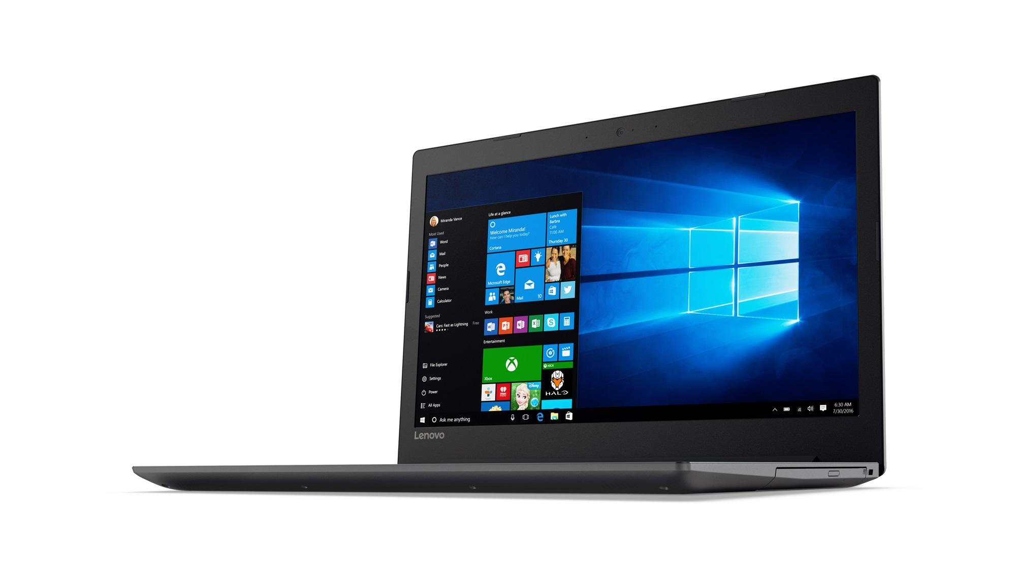 Фото  Ноутбук Lenovo ideapad 320-15ISK Onyx Black (80XH01DARA)