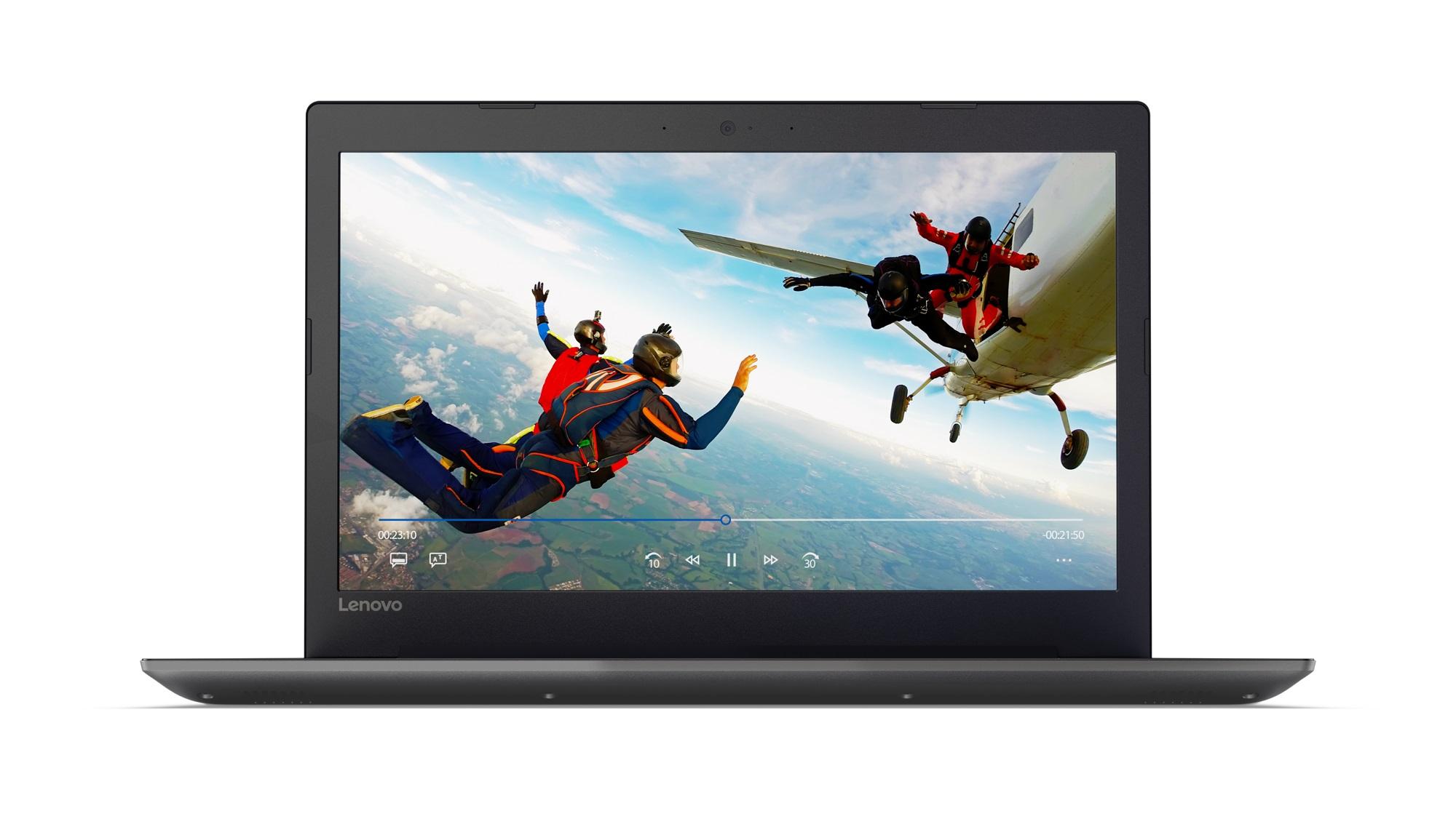 Фото  Ноутбук Lenovo ideapad 320-15IAP Onyx Black (80XR00U1RA)