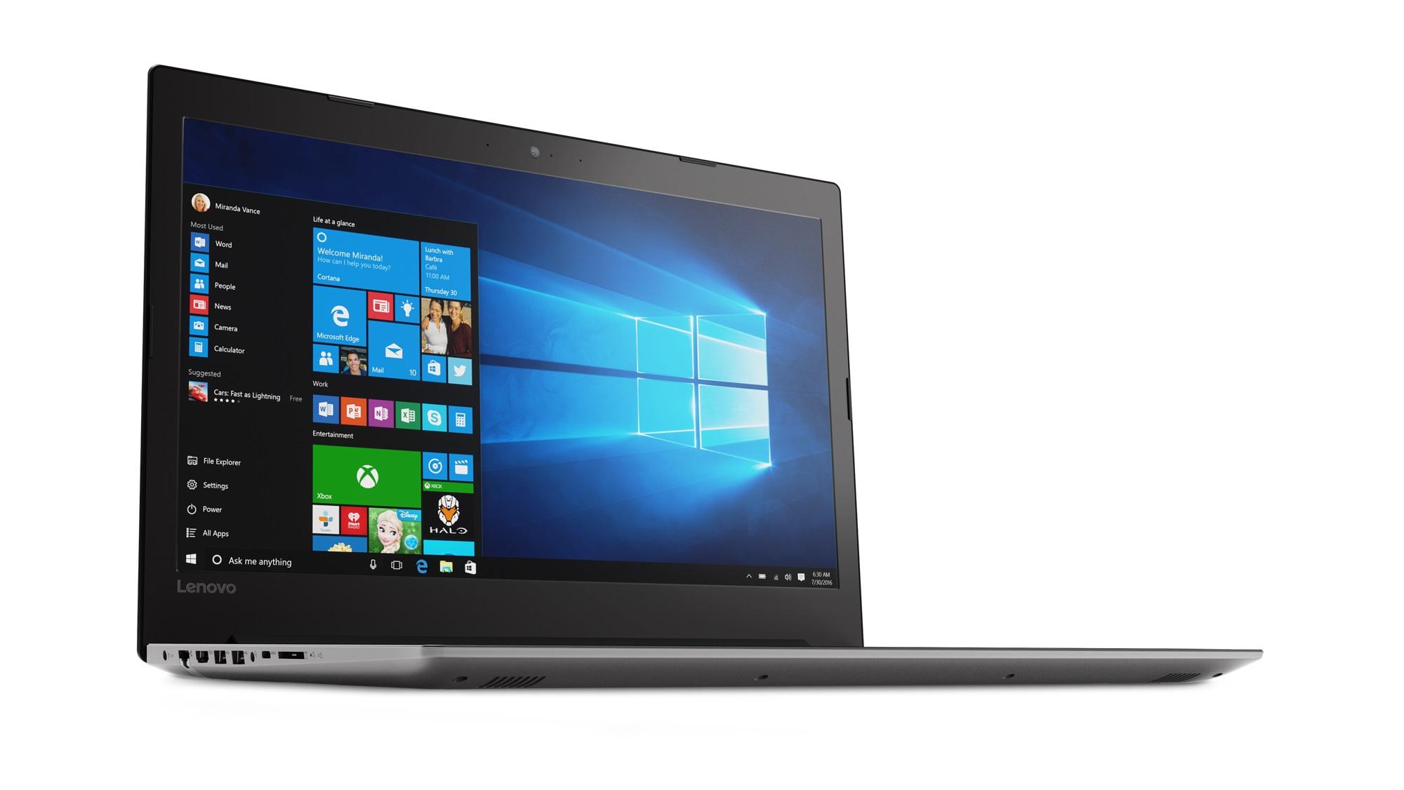 Фото  Ноутбук Lenovo ideapad 320-17ISK Onyx Black (80XJ004ERA)