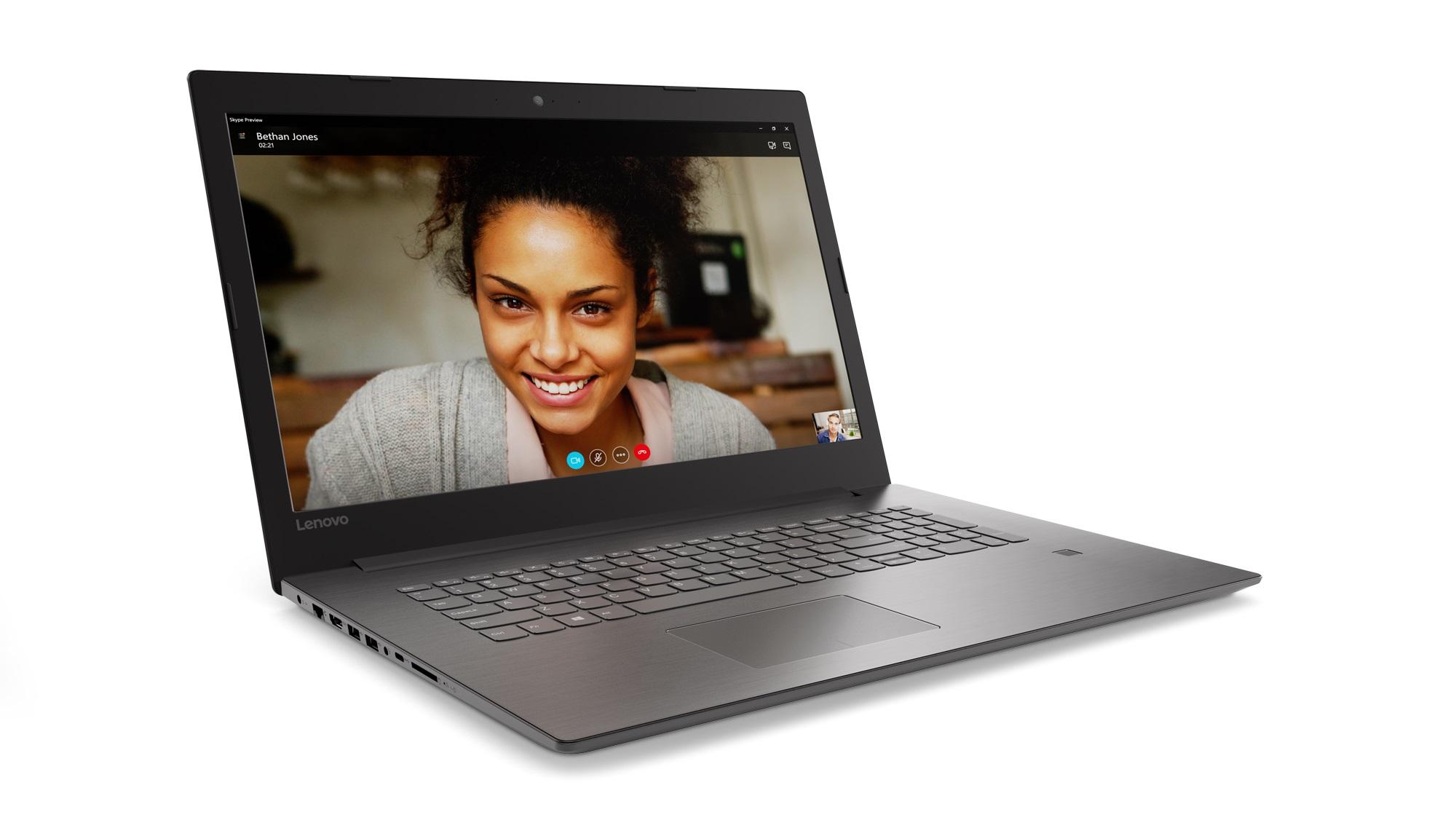 Фото  Ноутбук Lenovo ideapad 320-17IKB Onyx Black (80XM00KKRA)
