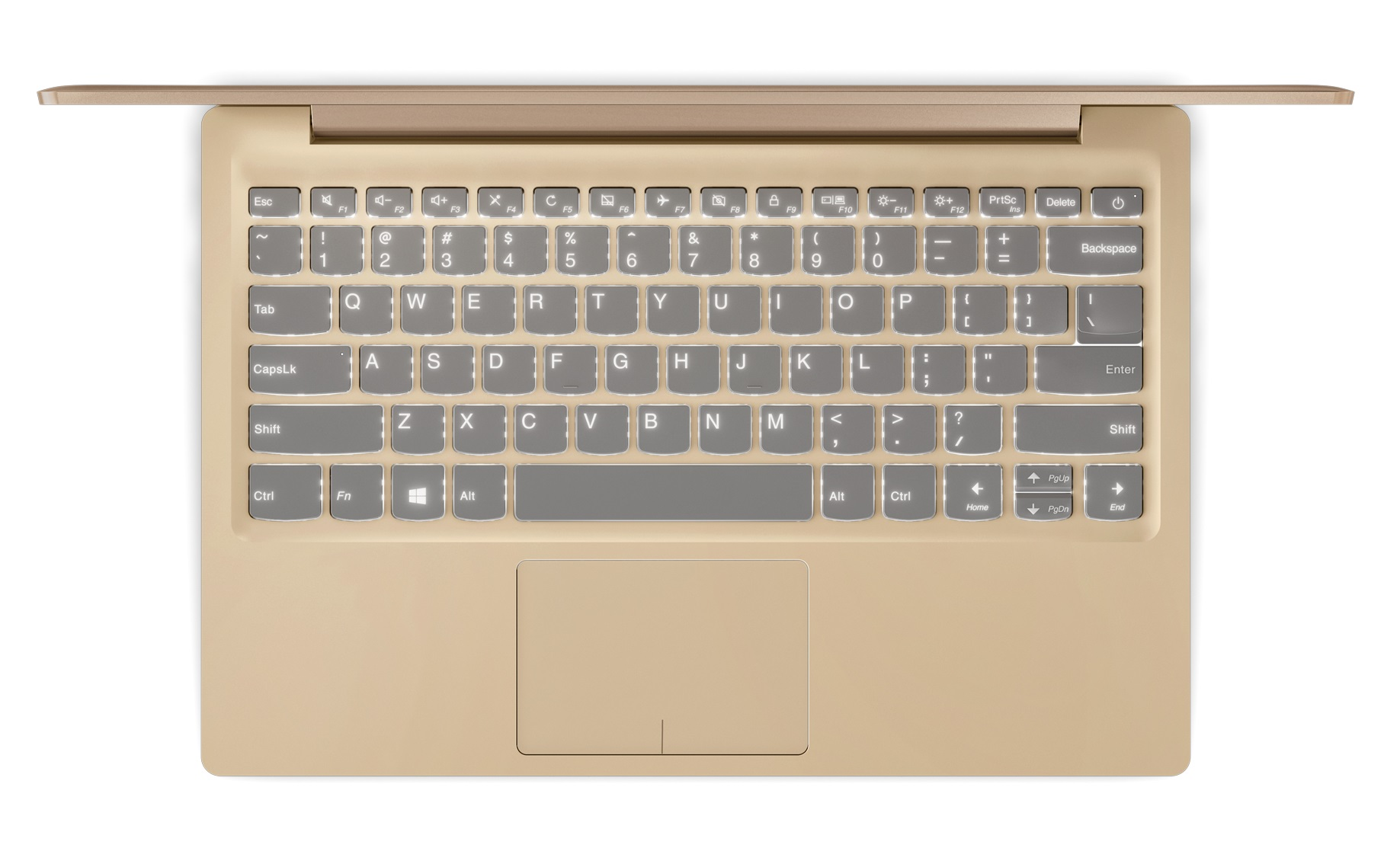 Фото  Ультрабук Lenovo ideapad 320S Golden (81AK00ETRA)