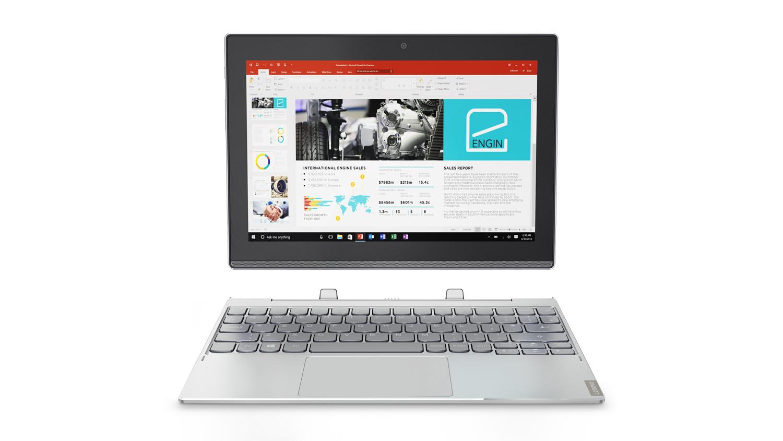 Фото  Планшет Lenovo ideapad Miix 320 WiFi Platinum Silver (80XF00LXRA)