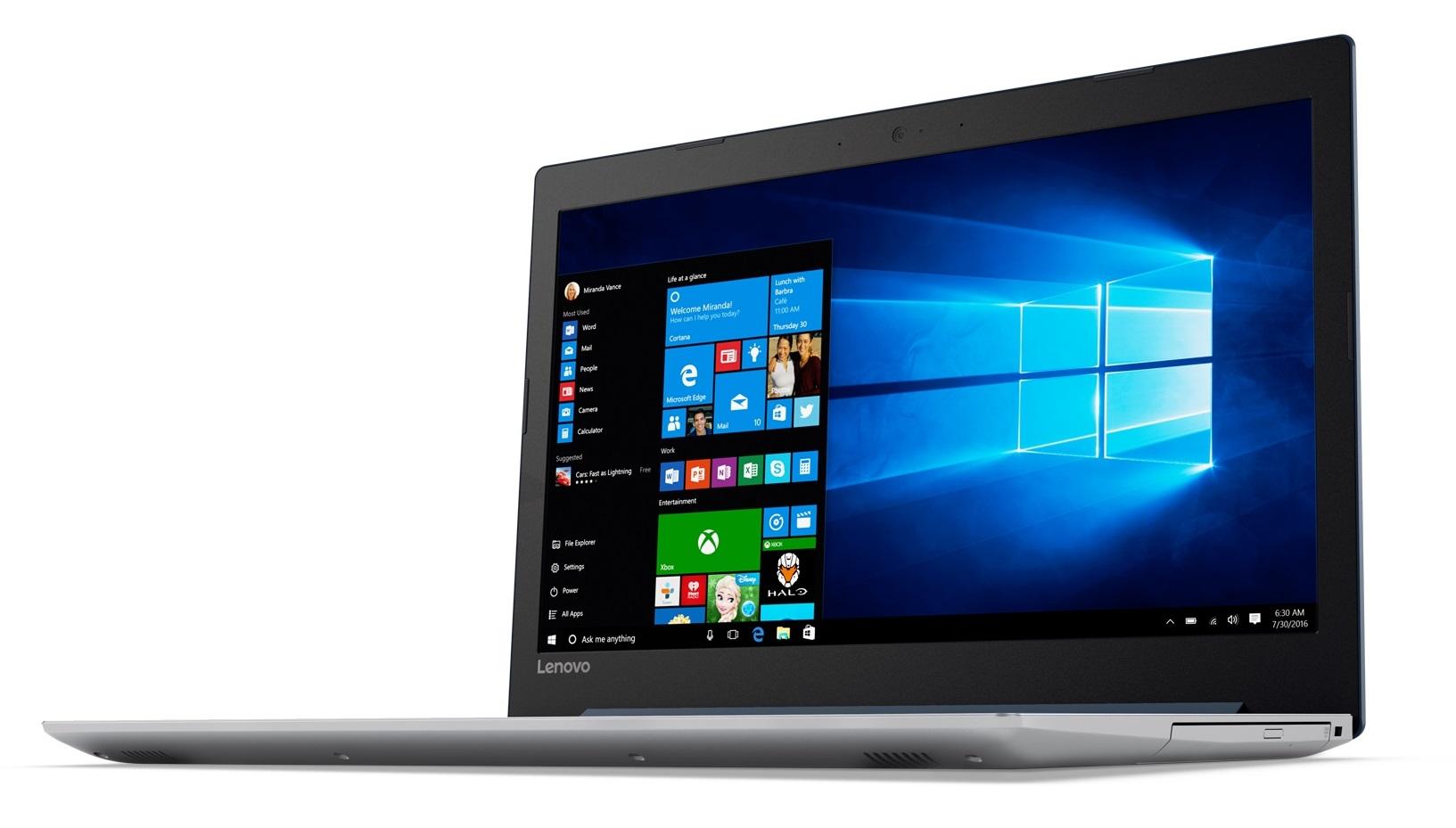 Фото  Ноутбук Lenovo ideapad 320-15IKB Denim Blue (80XL03W4RA)