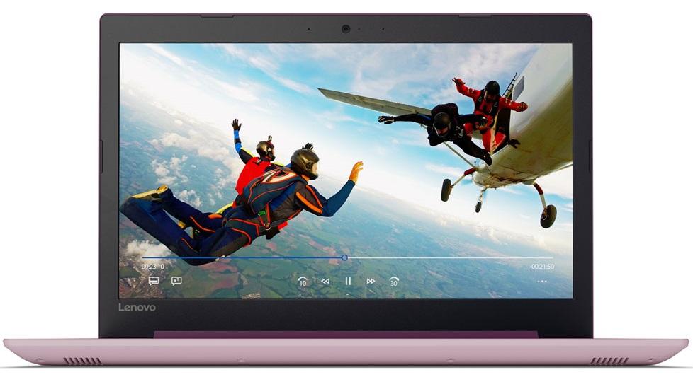 Фото  Ноутбук Lenovo ideapad 320-15ISK Plum Purple (80XH00XQRA)