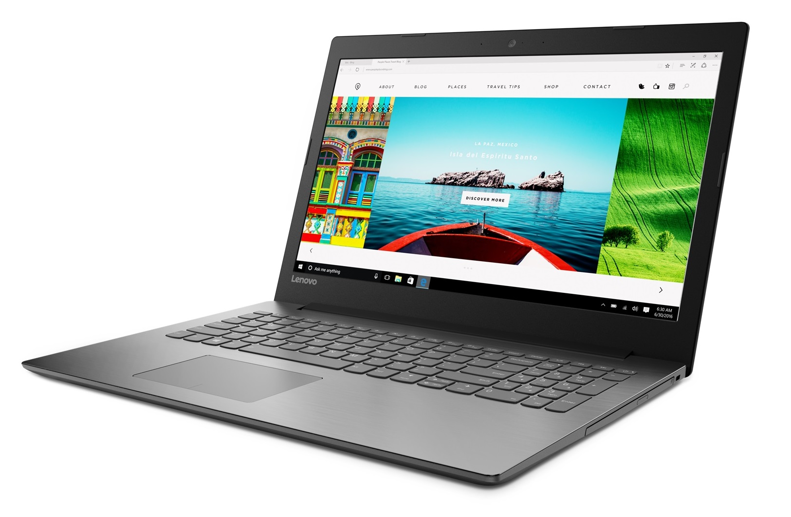 Фото  Ноутбук Lenovo ideapad 320-15IKB Onyx Black (81BG00VHRA)