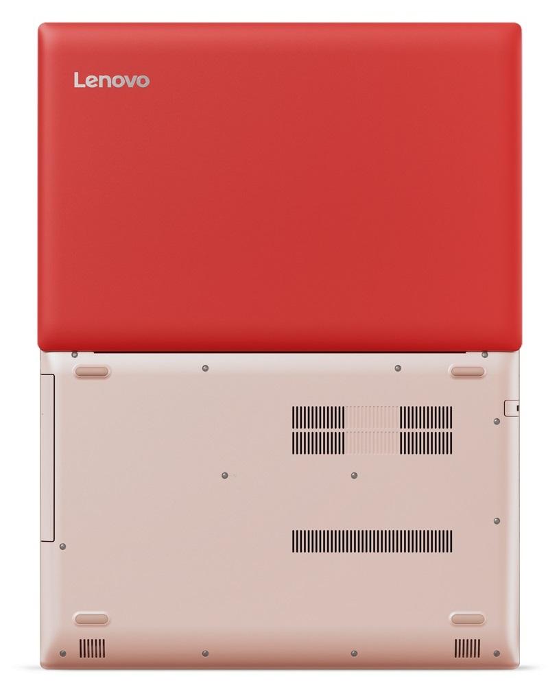 Фото  Ноутбук Lenovo ideapad 320-15IKB Coral Red (80XL043GRA)