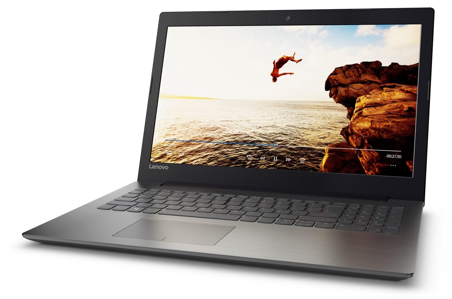 Фото  Ноутбук Lenovo ideapad 320-15ISK Onyx Black (80XH020NRA)