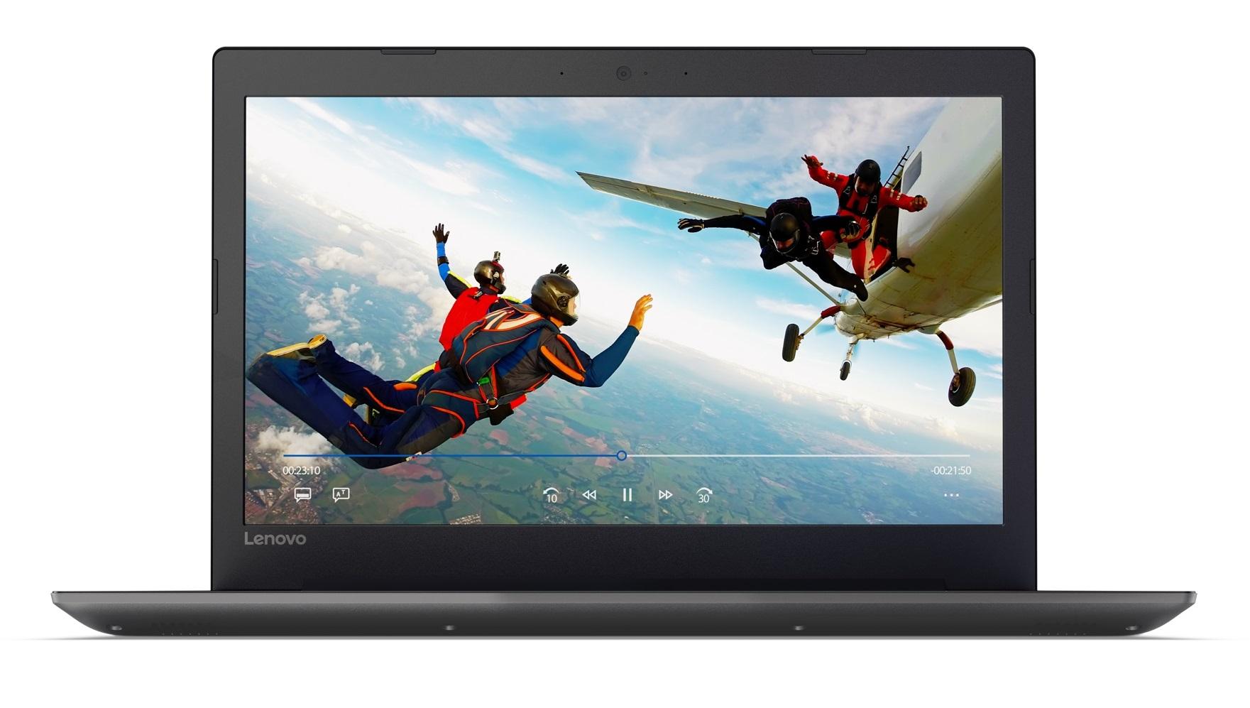 Фото  Ноутбук Lenovo ideapad 320-15 Onyx Black (80XH022RRA)