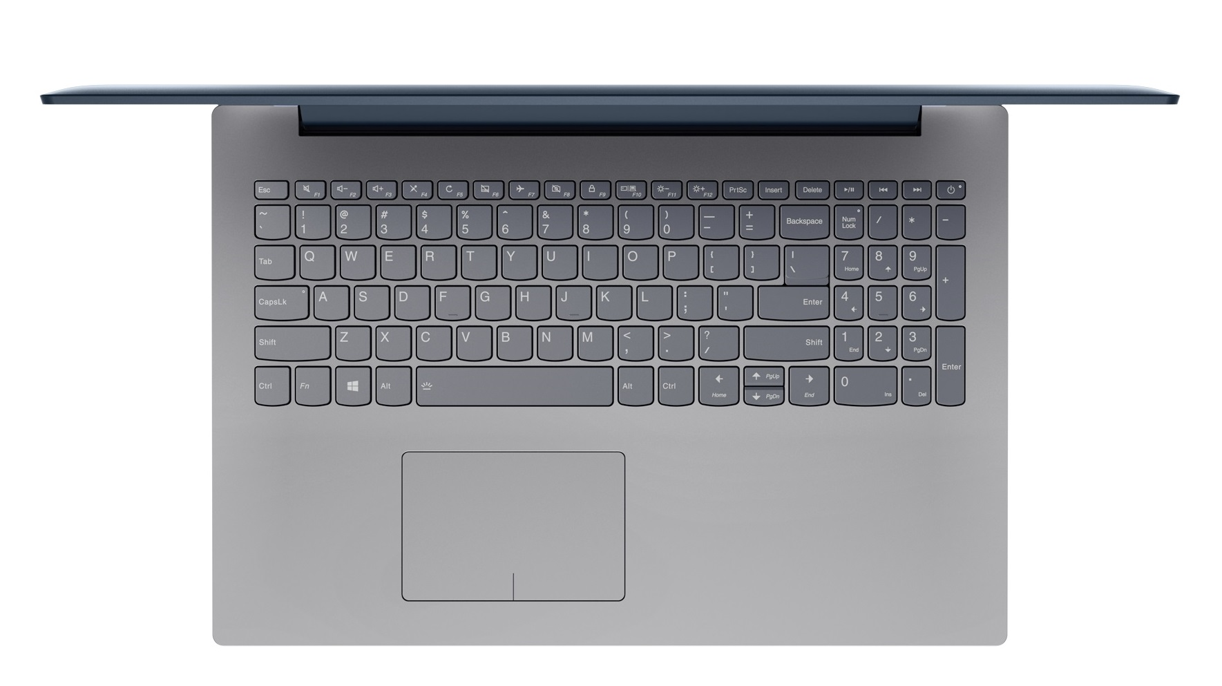 Фото  Ноутбук Lenovo ideapad 320-15IKB Denim Blue (80XL03WARA)