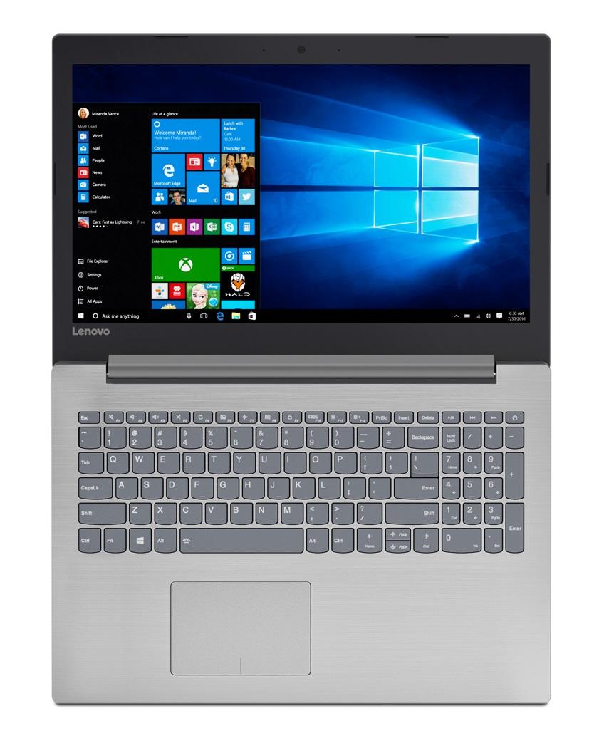 Фото  Ноутбук Lenovo ideapad 320-15IKB Platinum Grey (80XL043ERA)