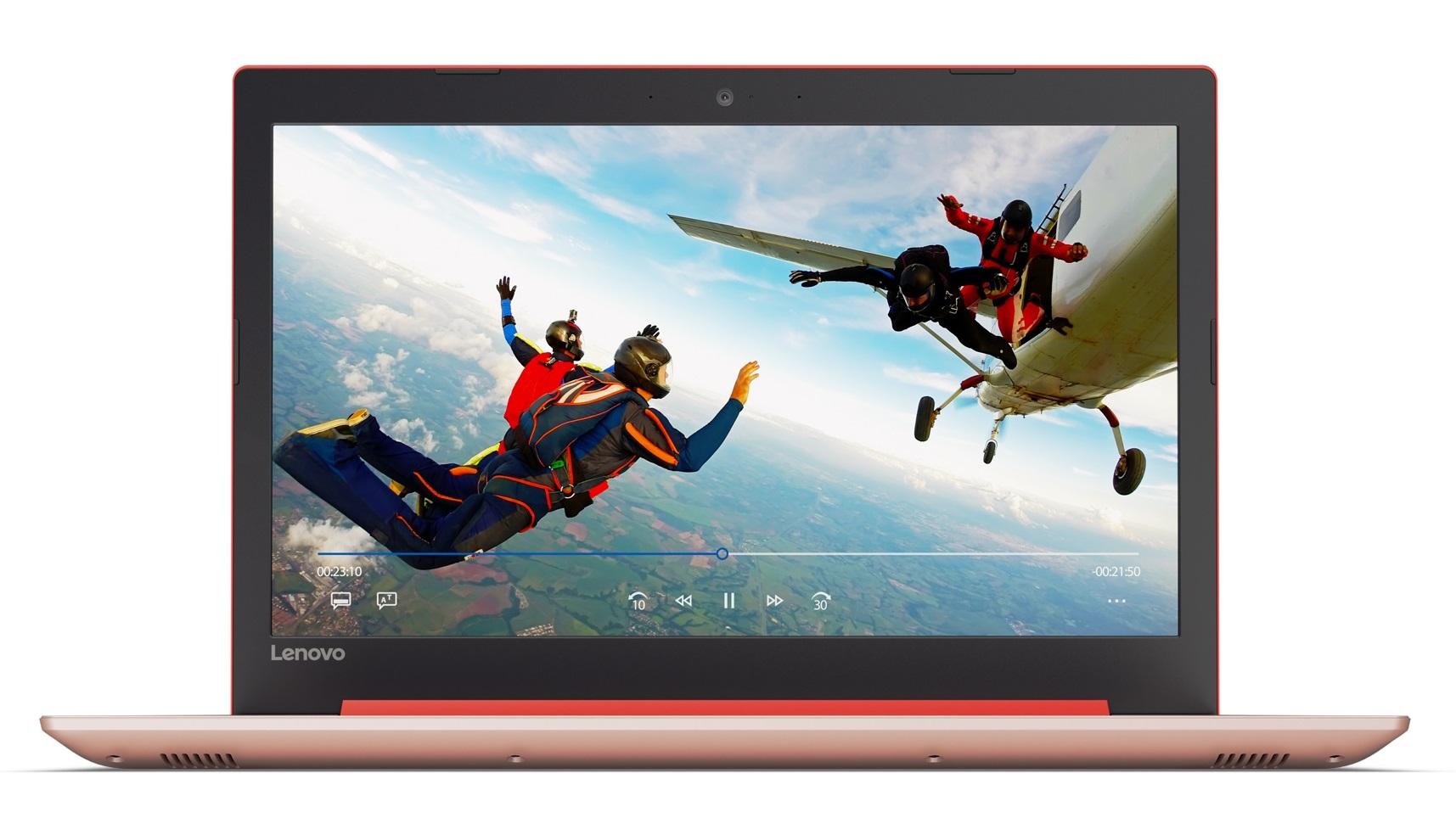 Фото  Ноутбук Lenovo ideapad 320-15IAP Coral Red (80XR01C4RA)