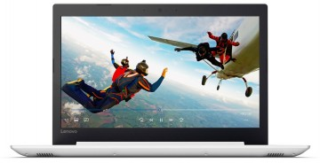 Фото 0 Ноутбук Lenovo ideapad 320-15IAP Blizzard White (80XR01C3RA)