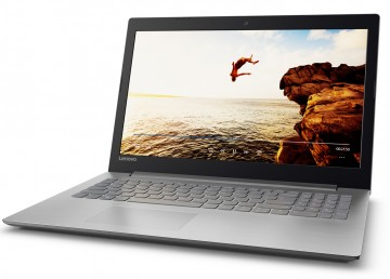 Фото 1 Ноутбук Lenovo ideapad 320-15IAP Platinum Grey (80XR01A5RA)