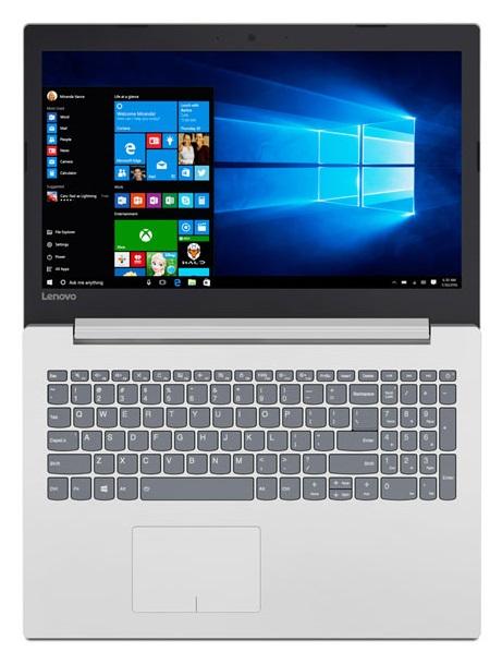 Фото  Ноутбук Lenovo ideapad 320-15IKB Blizzard White (80XL03G3RA)