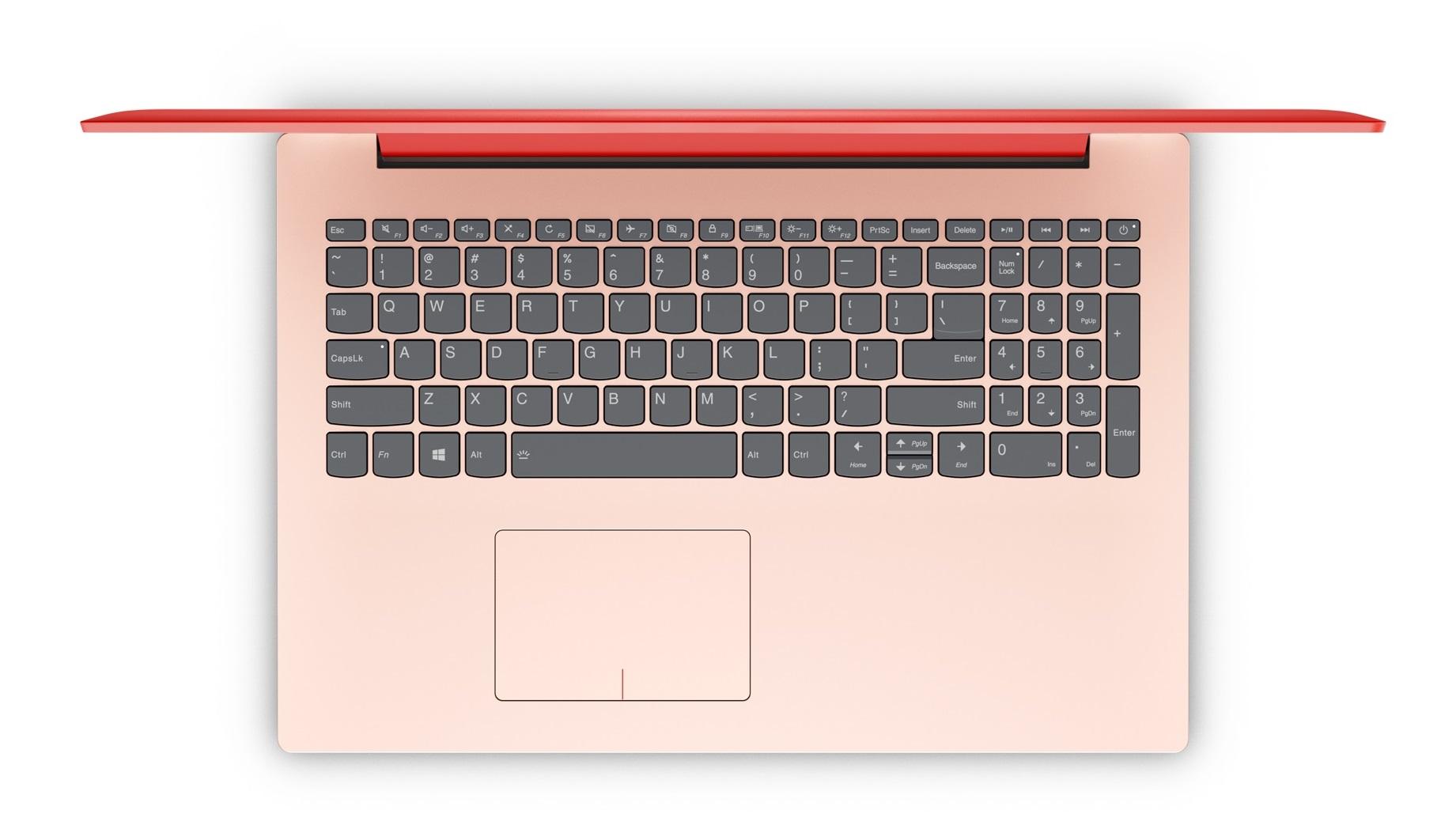 Фото  Ноутбук Lenovo ideapad 320-15IKBRN Coral Red (81BG00V6RA)