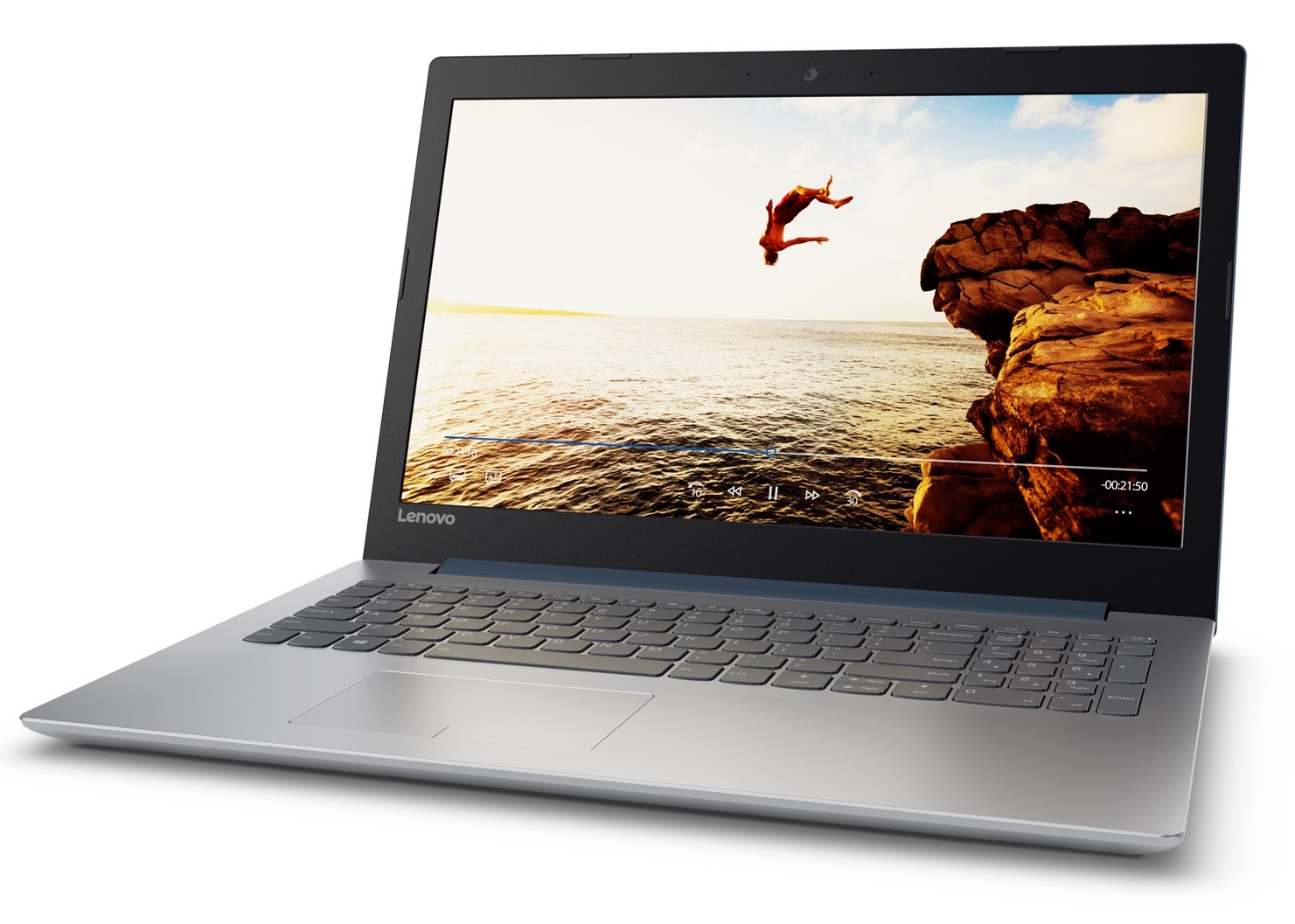 Фото  Ноутбук Lenovo ideapad 320-15IKBRN Denim Blue (81BG00V7RA)