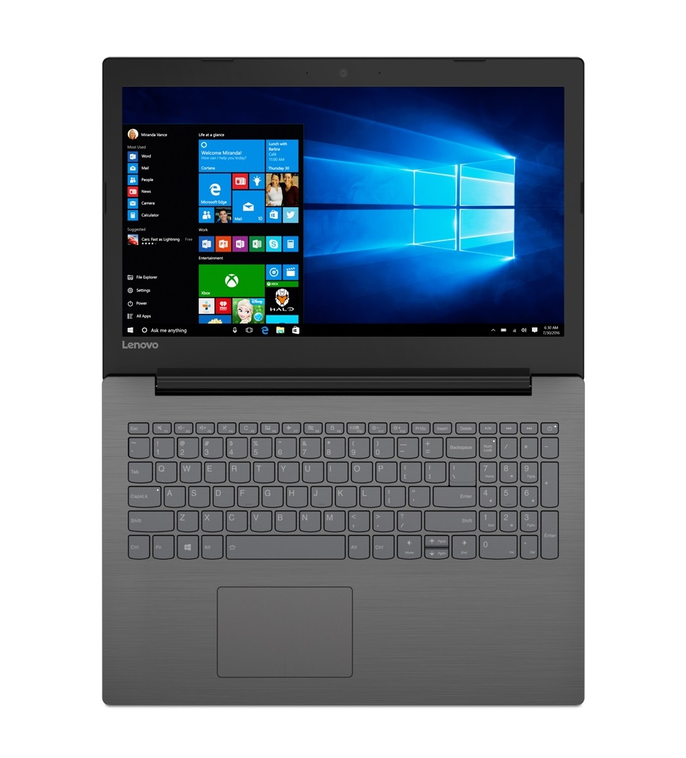 Фото  Ноутбук Lenovo ideapad 320-15IKBRN Onyx Black (81BG00V4RA)