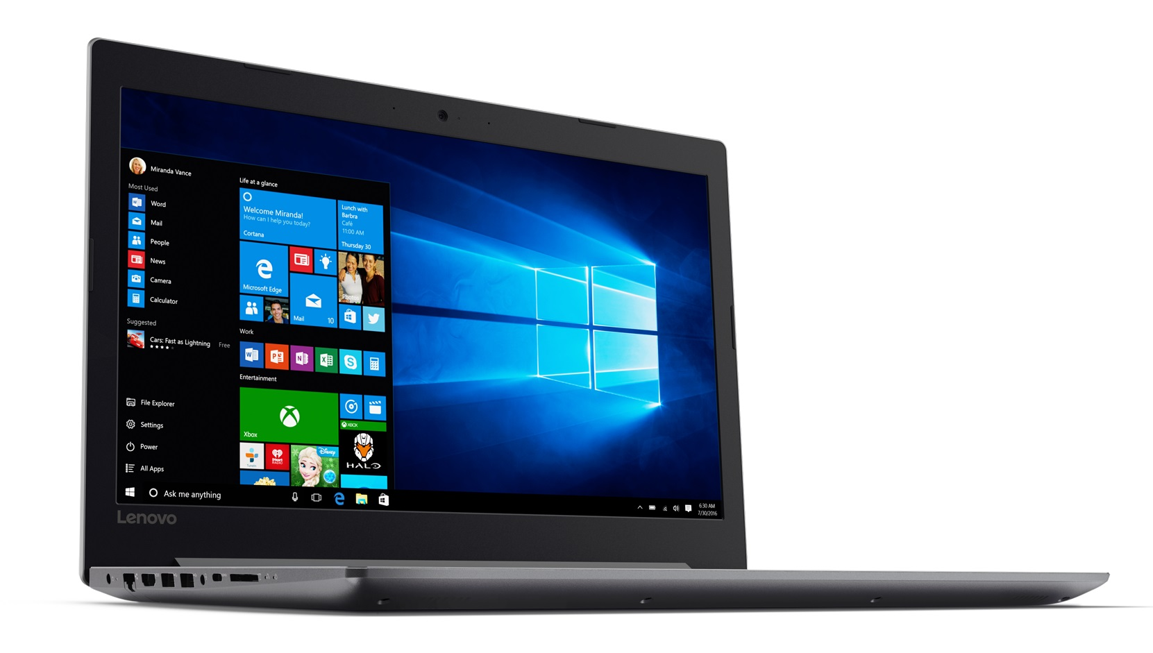 Фото  Ноутбук Lenovo ideapad 320-15IKB Platinum Grey (80XL041XRA)